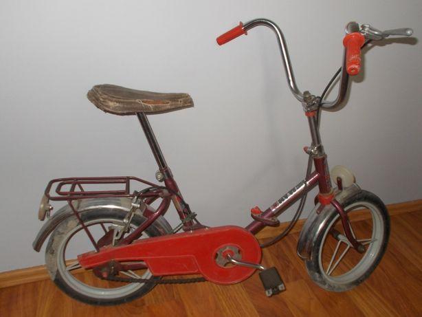 NIEMEN 2 (HEMAH 2) - stary rowerek na pełnych oponach USSR PRL