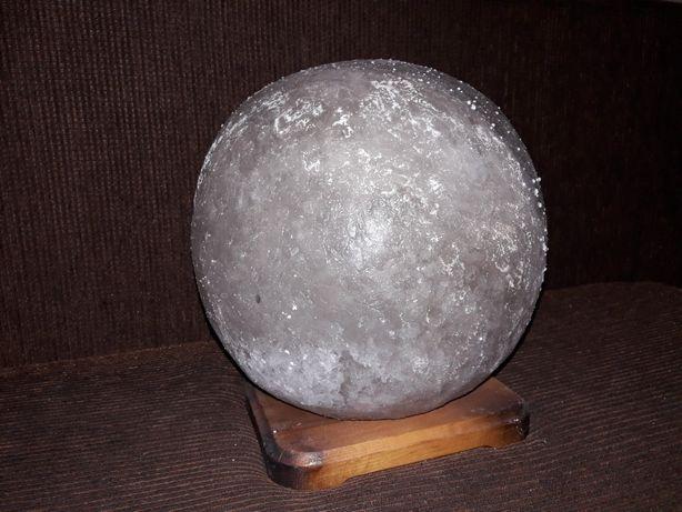 Соляной светильник Шар 7-9 кг. Соляная лампа ночник.