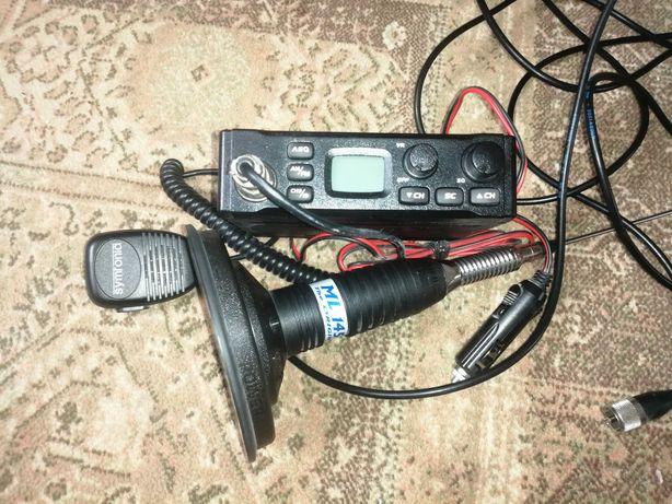 CB radio MERX+ antena SIRIO długa