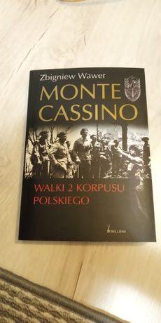 Książka: Z. Wawer 'Monte Cassino. Walki 2 korpusu polskiego'