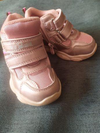 Утеплені кросівки для дівчинки TM Weestep
