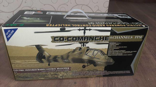 Радиоуправляемый вертолет E-sky CO-COMANCHE