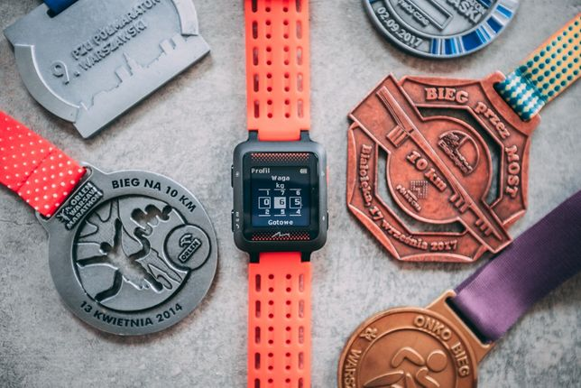 NOWY W FOLII Mio MiVia Run 350 - smartwatch zegarek sportowy