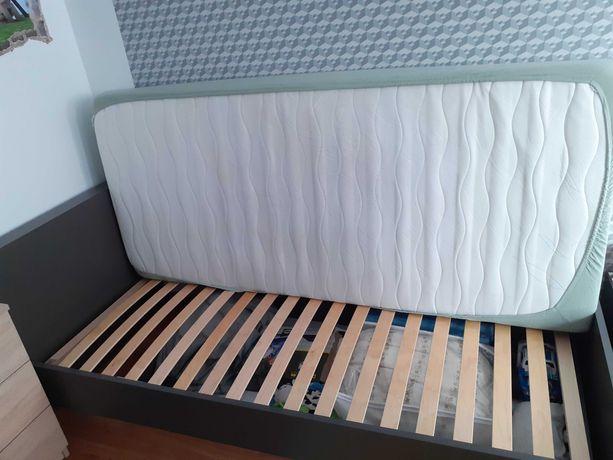 Sprzedam łóżko+szafkę