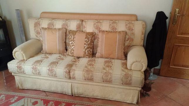 Sofá de tecido