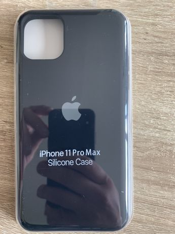 Iphone 11 pro max case czarny apple