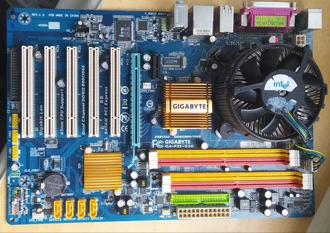 материнская плата /soket 775 core 2 duo e5400 2.7ghz