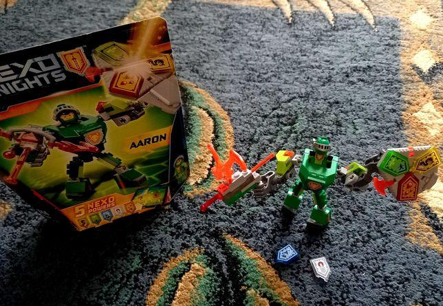 NEXO KNIGHTS 2 figurki Aaron i Battle Suit Macy Lego + gratis