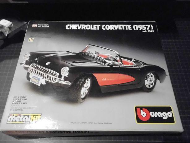 bburago chevrolet corvette 1:24 metalkit italia kolekcja