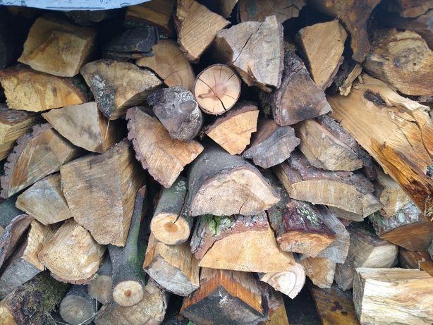 Drewno kominkowe opałowe mieszane olcha brzoza