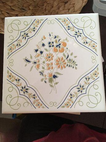 Piękne, kolekcjonerskie dekory ceramiczne hiszpańskie Cedolesa