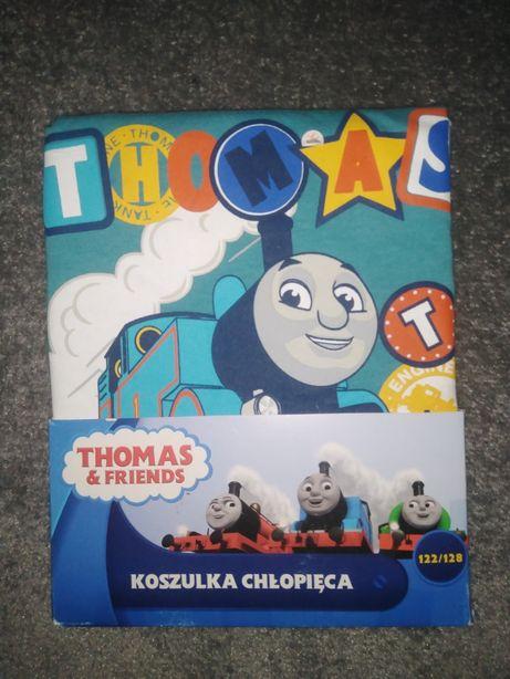 Nowa bluzka chłopięca Tomek i przyjaciele 122-128 cm