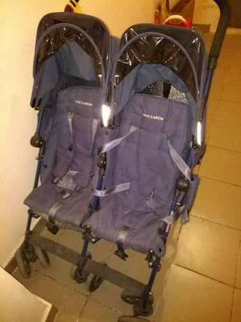 Коляска-трость для двойни Maclaren Twin Techno