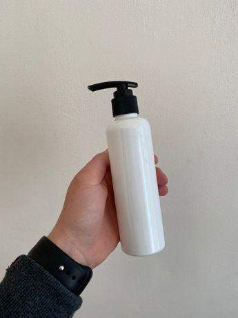 Флакон 200 мл. с дозатором (тара, бутыль, 0,2, грамм, для жидкости)