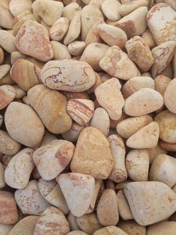 Kamień Otoczak Tęczowy Reinbow fr. 3-6, Piękny Otoczak z Turcji