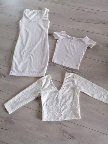Zestaw ubrań białych