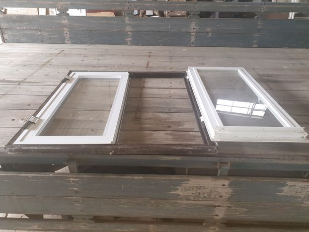 Janela de alumínio 1m por 90cm