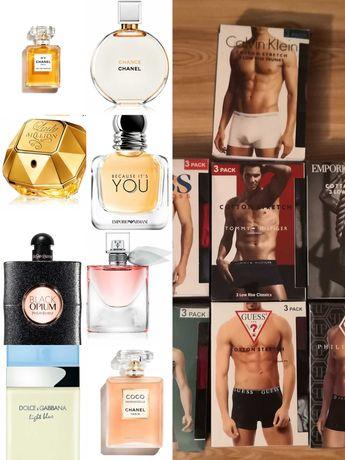 Gratis 3Pak Bokserek! Perfumy Męskie i Damskie Perfumy