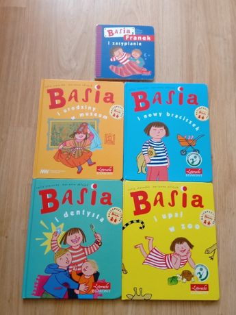 5 Książeczk z serii BASIA i...