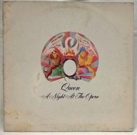 Queen (A Night At The Opera) 1975. (LP). 12. Vinyl. Пластинка. Germany