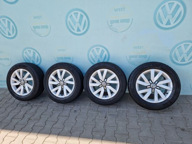 Диски с резиной Р16 5x112 VW Passat B7 B8 Jetta Golf 7 Beetle R16