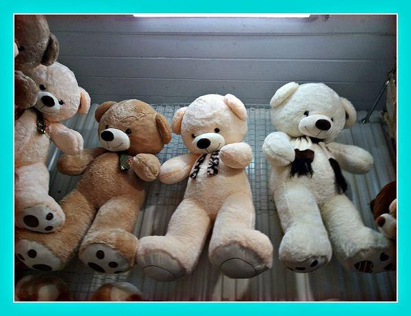 Плюшевый медведь 130см Большой плюшевый медведь Мягкая игрушка