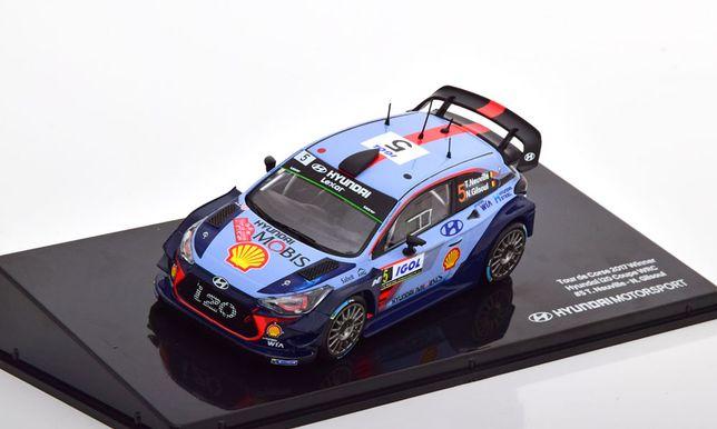 Hyundai i20 Coupe WRC, Winner Rally Tour de Corse (2017) 1:43 IXO