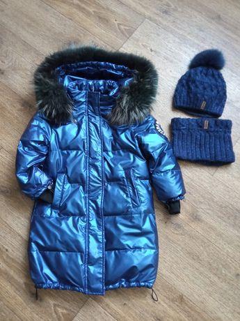 Зимняя куртка 5-7л.