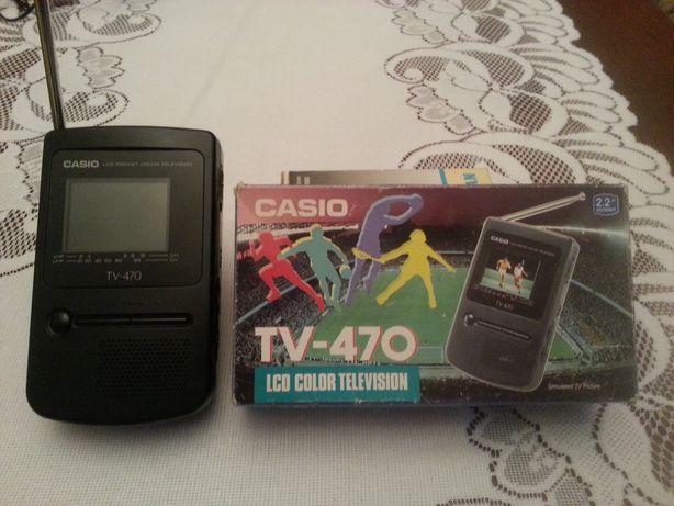 Casio Tv 470, telewizorek przenośny