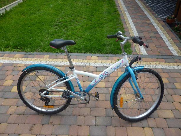 Rower btwin 24 cale dla dziewczynki lub chłopca