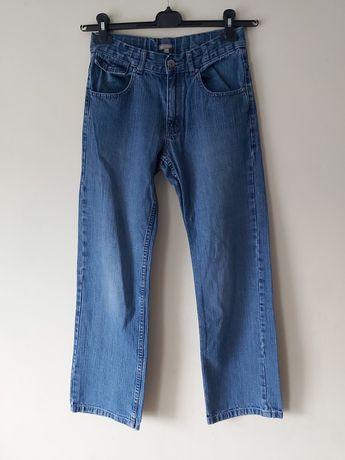 Chłopięce spodnie jeansy  158/164
