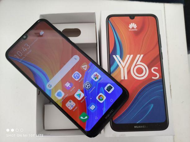 Huawei y6s 2020 + etui