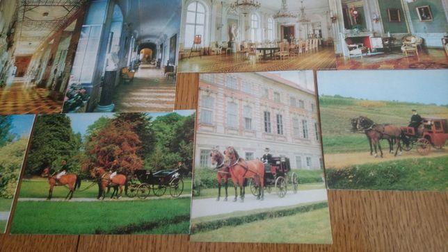 Pocztówki Muzeum w Łańcucie