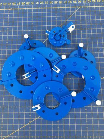 Ferramentas para fazer pompons (8 tamanhos)