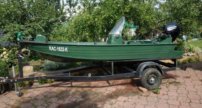 """Лодка для охоты и рыбалки """"Вельбот-36"""" с лафетом"""