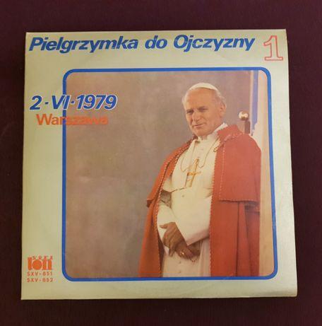 I Pielgrzymka do ojczyzny JP II 1979 płyty winylowe 3 albumy x 2 LP