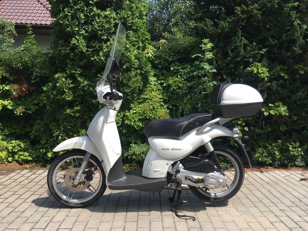 Aprilia scarabeo 100/50 motorower 2009r, tylko 17tys km RATY 125/50