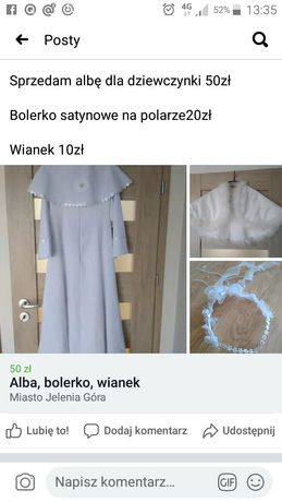 Alba, bolerko, wianek