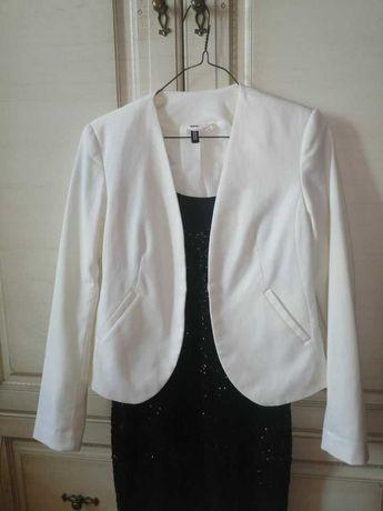 Белый пиджак H&M. Размер s