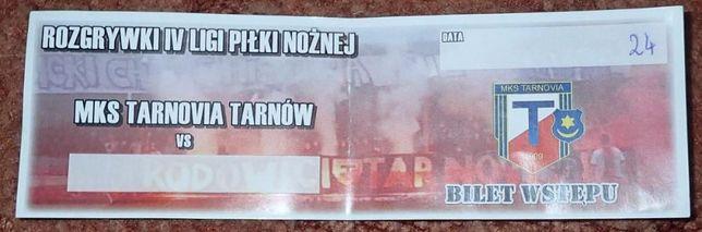 Bilet kolekcjonerski Tarnovia Tarnów