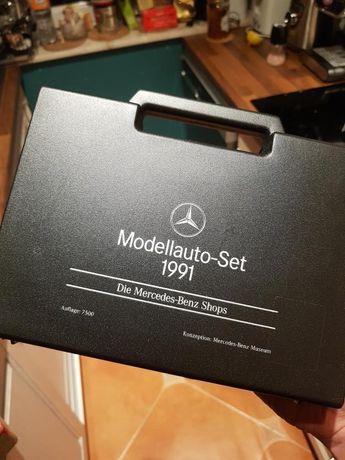 Wiking 1:87 Mercedes z 1991 roku - Jeden z 7500 zestawów