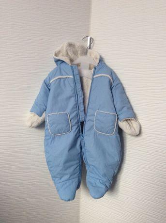 Zimowy kombinezon dla chłopca 62 68