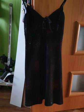 Sukienka brokatowa telly weijl rozm.36