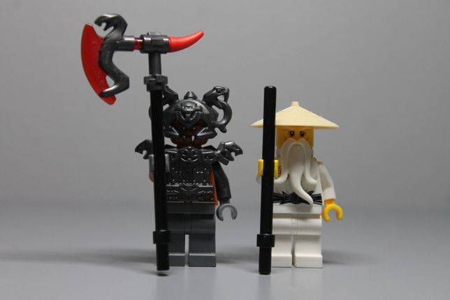 Lego ninjago figurki Sensei Wu