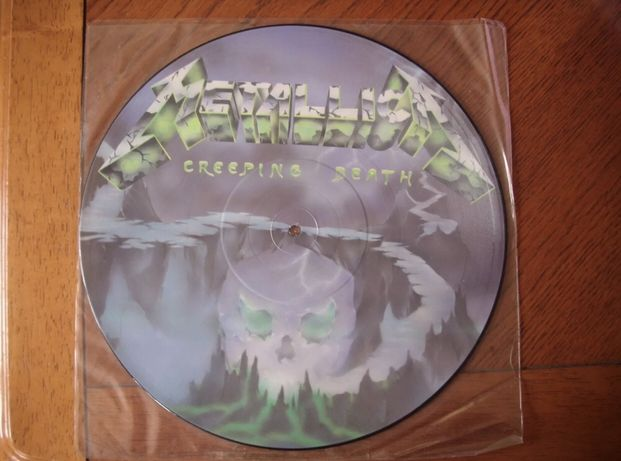 Metallica creeping death Pic disc