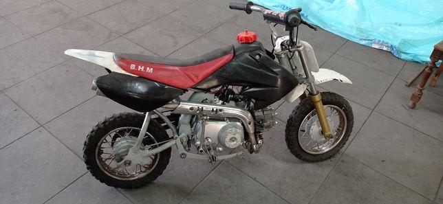 Dirt bike 72cc .