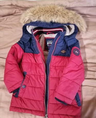 Куртка зимняя на мальчика на возраст 3-3,5 года