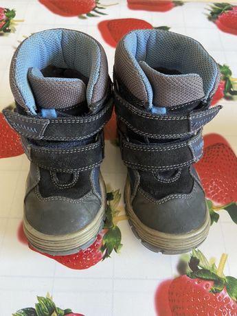Зимние ботинки на мальчика фирма Бартек Bartek 24 размер 15,5 см
