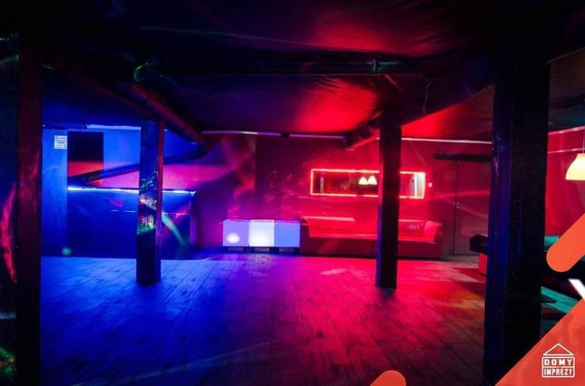 SALA na URODZINY Klub impreza domówka Własny alkohol EVENT przyjęcie