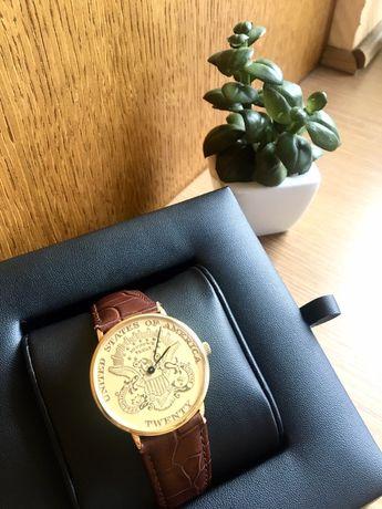 Zegarek twenty dollars złoty